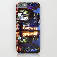'Times Square NYC ~ BRIGHT LIGHTS' iPhone 6 Slim Case