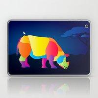 Paper Craft Rhino Laptop & iPad Skin