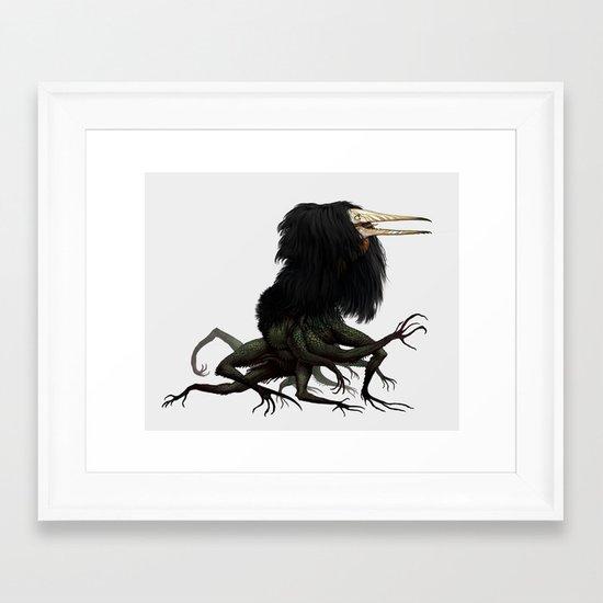 Twitchy Vukka Framed Art Print
