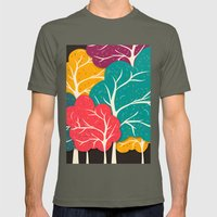 Happy Forest Mens Fitted Tee Lieutenant SMALL