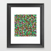 Encrusted With Sprinkles (Holiday Edition) Framed Art Print