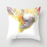 You've Got the Right Attitude! Throw Pillow