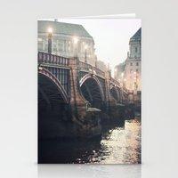 Evening Bridge Stationery Cards
