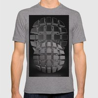 Bullets Mens Fitted Tee Athletic Grey SMALL