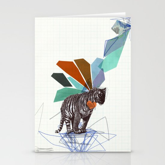 T I G E R Stationery Card