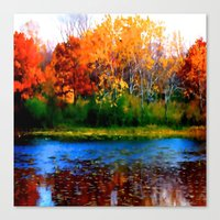 Remember Autumn Canvas Print