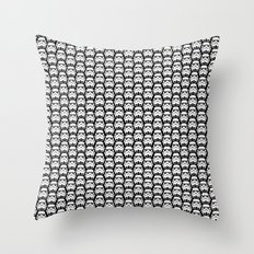 Stormtroopers on Black Throw Pillow