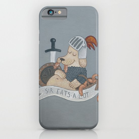 Sir Eats-A-Lot iPhone & iPod Case