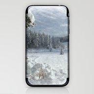 Scenery Forest Winter Wo… iPhone & iPod Skin