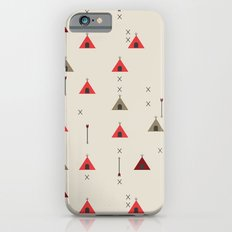 TEE PEE - Tipi - NATIVE NAVAJO PRINT iPhone 6 Slim Case