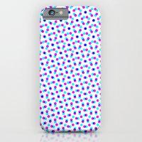 PINK & BLUE DOT iPhone 6 Slim Case