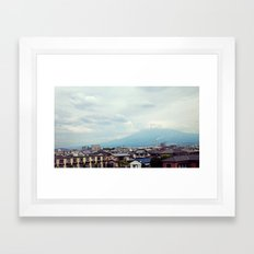 富士山 Framed Art Print