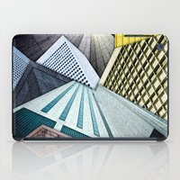 Angles of City Structures iPad Case