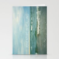 Adventure Is Calling - W… Stationery Cards