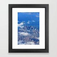 Tiny Manhattan Framed Art Print