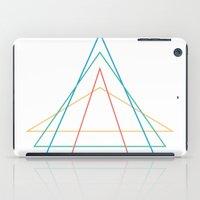 4 triangles iPad Case