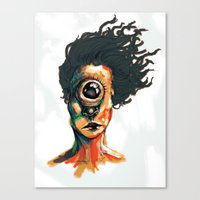 Depth Perception  Canvas Print