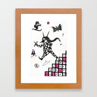 Go ! Framed Art Print
