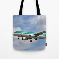 Aer Lingus Airbus A320 Tote Bag
