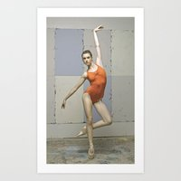 Contemporary Ballet Danc… Art Print