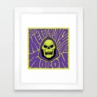 Metal Muncher Framed Art Print