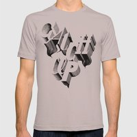 Catch Up Mens Fitted Tee Cinder SMALL