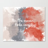 Tis The Season To Be Coz… Canvas Print