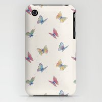 iPhone 3Gs & iPhone 3G Cases featuring Butterflies by Tracie Andrews