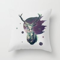 The Lord between Worlds Throw Pillow
