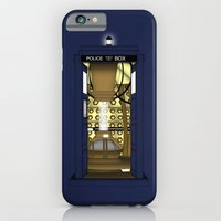 It's the Tardis (Variant): Doors Open! iPhone 6 Slim Case