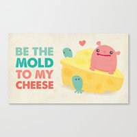 Be My Cheese Mold Canvas Print