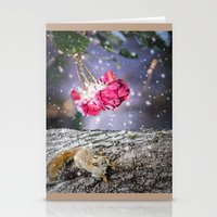 Let's hang in there together Stationery Cards