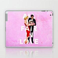 All Is Fair In Love Laptop & iPad Skin
