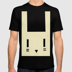 bunnyface SMALL Black Mens Fitted Tee