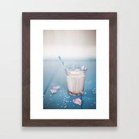 Milk. Framed Art Print
