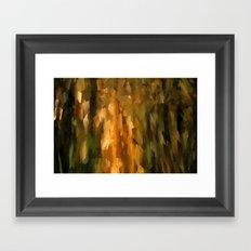 Forest Daybreak Framed Art Print