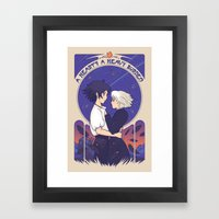 Something I Want To Prot… Framed Art Print