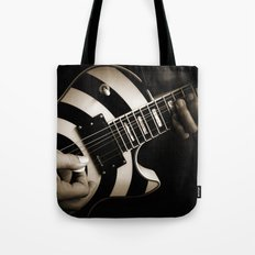 The Guitar Player Tote Bag