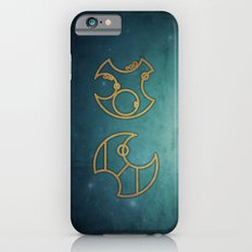 Doctor Who in Circular Gallifreyan iPhone 6 Slim Case