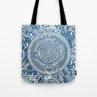 Diamond And Doodle Manda… Tote Bag