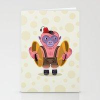 The Monkey Boy Stationery Cards
