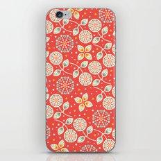 Vintage Flora iPhone & iPod Skin
