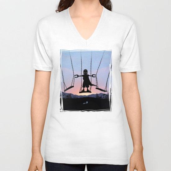 Magneto Kid V-neck T-shirt