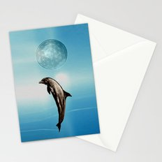 The DOLPHIN - ZEN version Stationery Cards