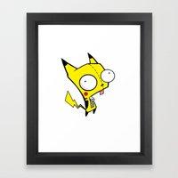 Peekatchoo GIR Framed Art Print