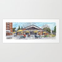 Freeborn Hall Panorama Art Print