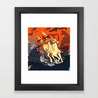 Western Framed Art Print