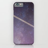 iPhone & iPod Case featuring Boeing through the Milky Way by Augustina Trejo