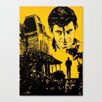 Norman Bates Psycho Canvas Print