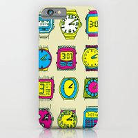 iPhone & iPod Case featuring 3:07 by klark